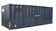 Miljö- og lagercontainere